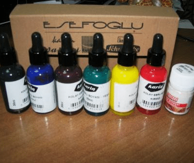 Краски для рисования по воде
