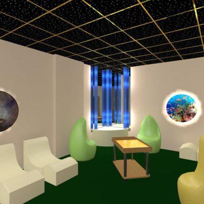 """Комплект сенсорной комнаты """"Звездное небо"""""""