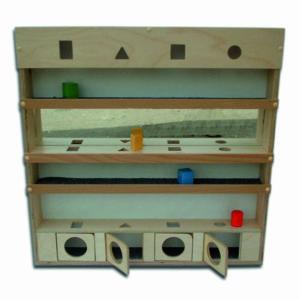 Сенсорный модуль с геометрическими телами и зеркалом