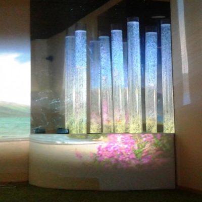 Сенсорный уголок с тремя колоннами «ТРИО»