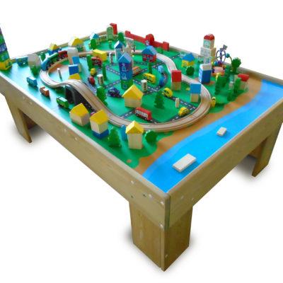 Конструктор «Город» (большой) с игровым столом