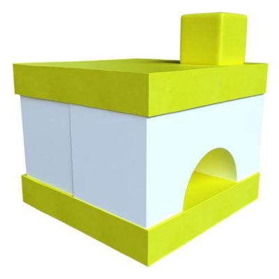 Мягкий игровой комплекс Печка
