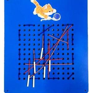 Игровая панель «Шнуровка вышивание»