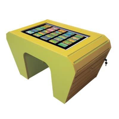 Интерактивный развивающий стол «Зебрано micro»